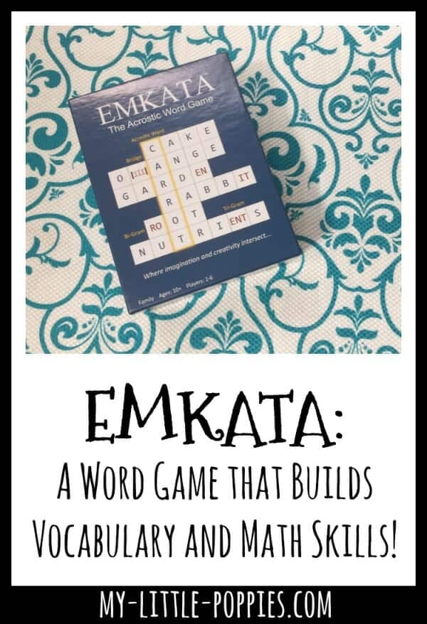 Emkata: A Word Game that Builds Vocabulary and Math Skills! | My Little Poppies