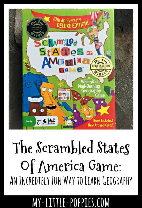 The Scrambled States of America Game: An Incredibly Fun Way to Learn U.S. Geography! | My Little Poppies