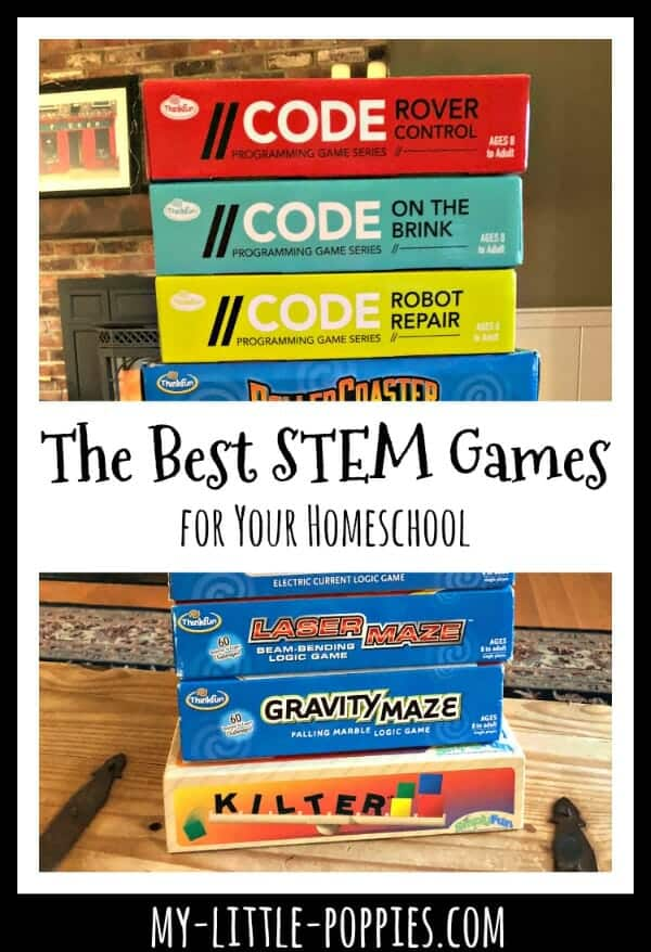 The Best STEM Games for Your Homeschool | My Little Poppies