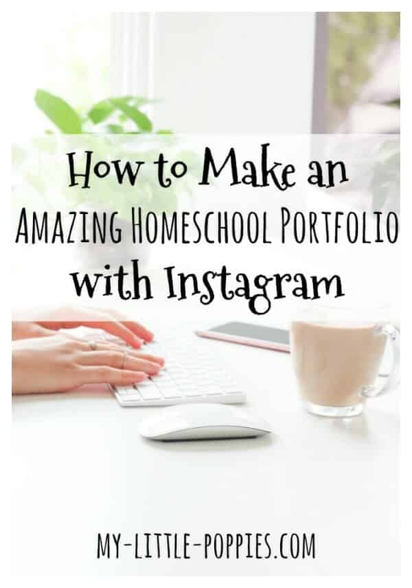 How to Make an Amazing Homeschool Portfolio with Instagram and the Seesaw App | My Little Poppies