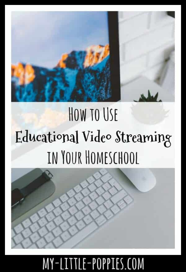 How to Use Educational Video Streaming in Your Homeschool | My Little Poppies