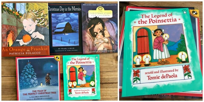 the best christmas books for your homeschool plus holiday jammies my little poppies - Best Christmas Books