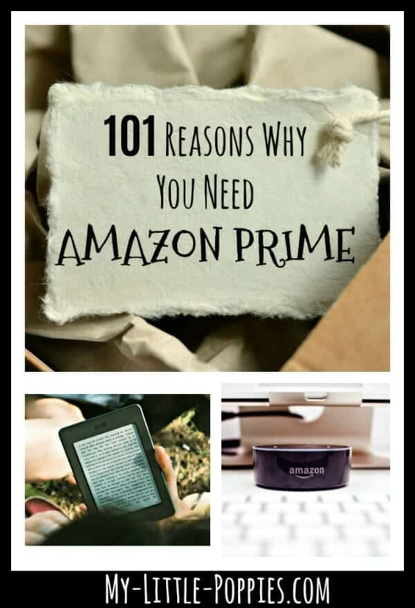 101 Fantastic Reasons Why You Need Amazon Prime Right Now