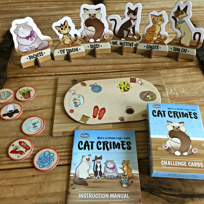 Cat Crimes: A Purrfect Logic Game for Cat Lovers | My Little Poppies