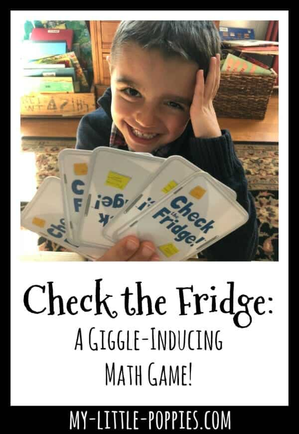 Check the Fridge: A Giggle-Inducing Math Game for Families! | My Little Poppies