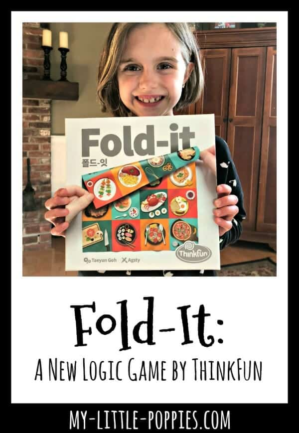 Fold-It: A New Logic Game by ThinkFun | My Little Poppies