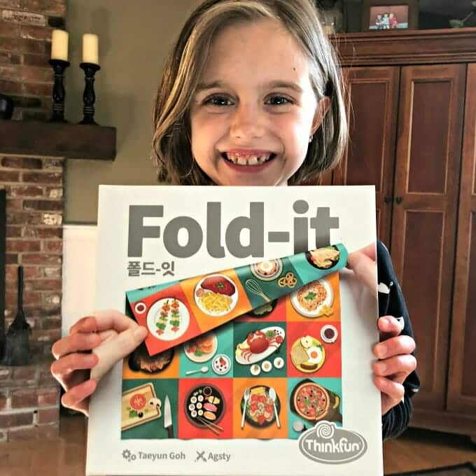 Fold-It: A New Logic Game by ThinkFun | My Little Poppies