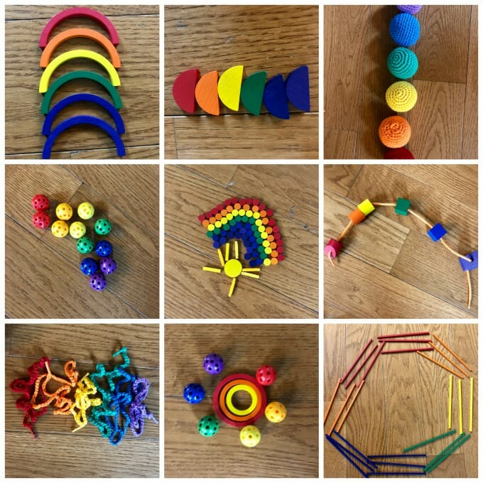 How to Make A Super-Simple, Super-Fun Rainbow Study   My Little Poppies