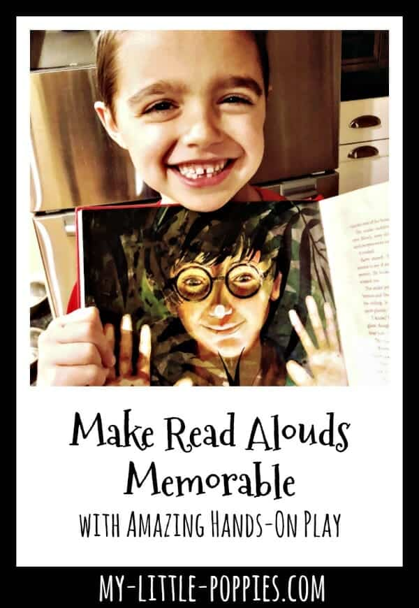 How to Make Read Alouds Memorable with Amazing Hands-On Play | My Little Poppies