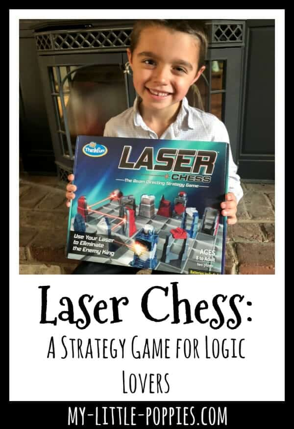 Laser Chess: A Strategy Game for Logic Lovers