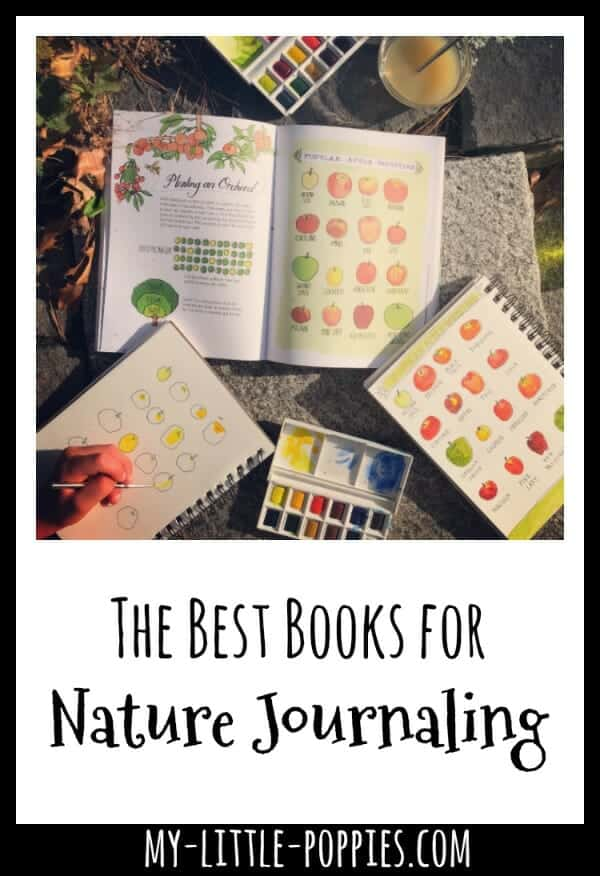 The Best Books for Nature Journaling and Inspiration | My Little Poppies