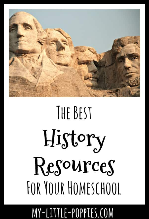 The Best History Resources For Your Homeschool | My Little Poppies