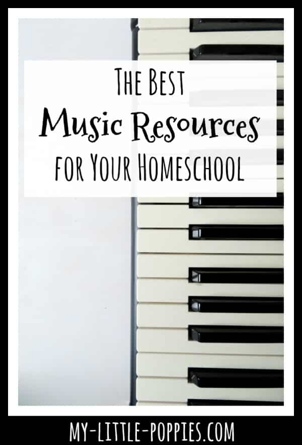 The Best Music Resources for Your Homeschool | My Little Poppies
