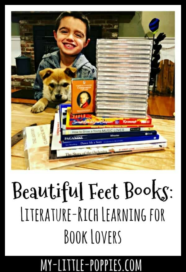 Beautiful Feet Books: Literature-Rich Learning for Book Lovers | My Little Poppies