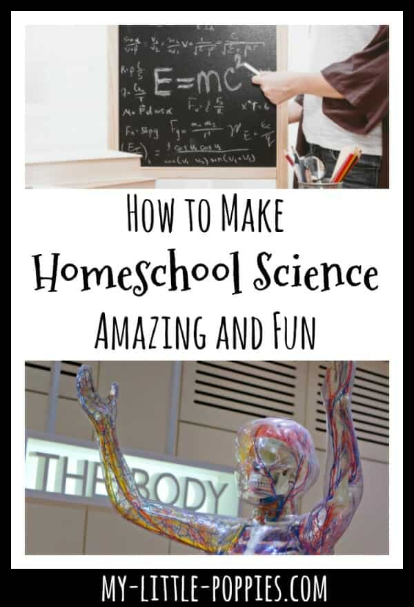 How to Make Homeschool Science Amazing and Fun | My Little Poppies