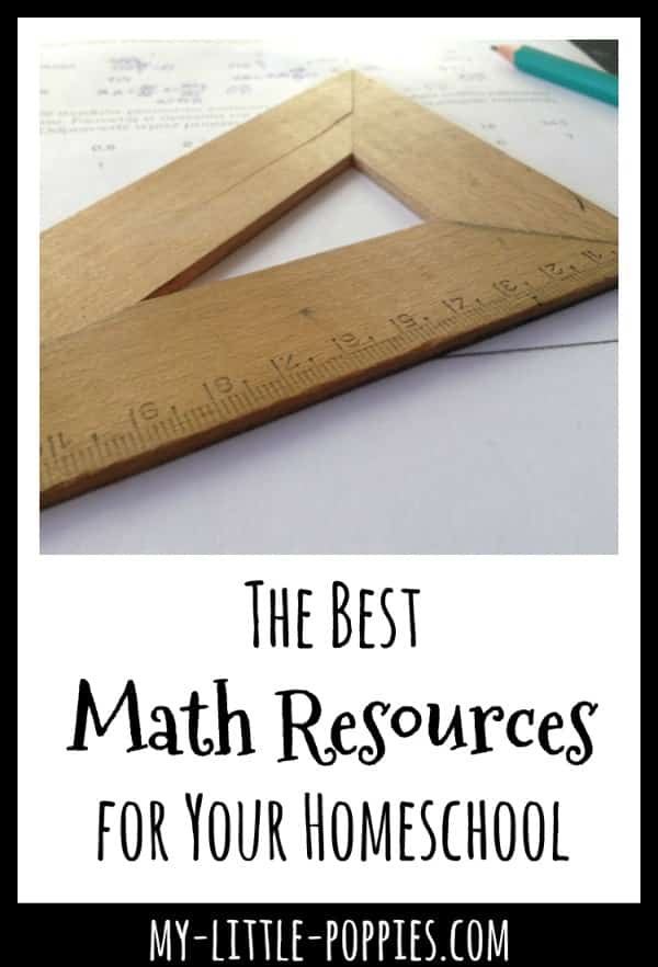The Best Math Resources for Your Homeschool | My Little Poppies