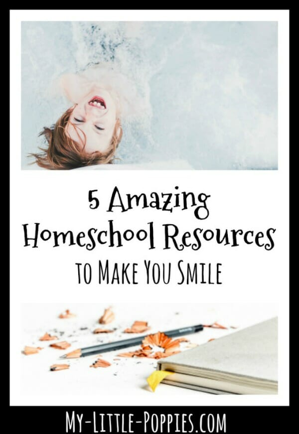 These Five Amazing Homeschool Resources Will Make You Smile | My Little Poppies