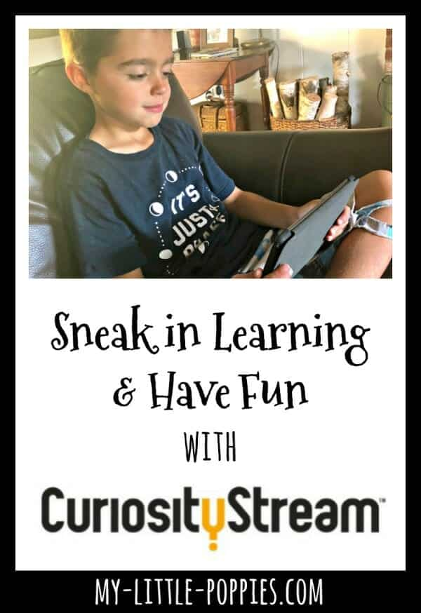 How to Sneak in Learning and Have Fun with CuriosityStream | My Little Poppies