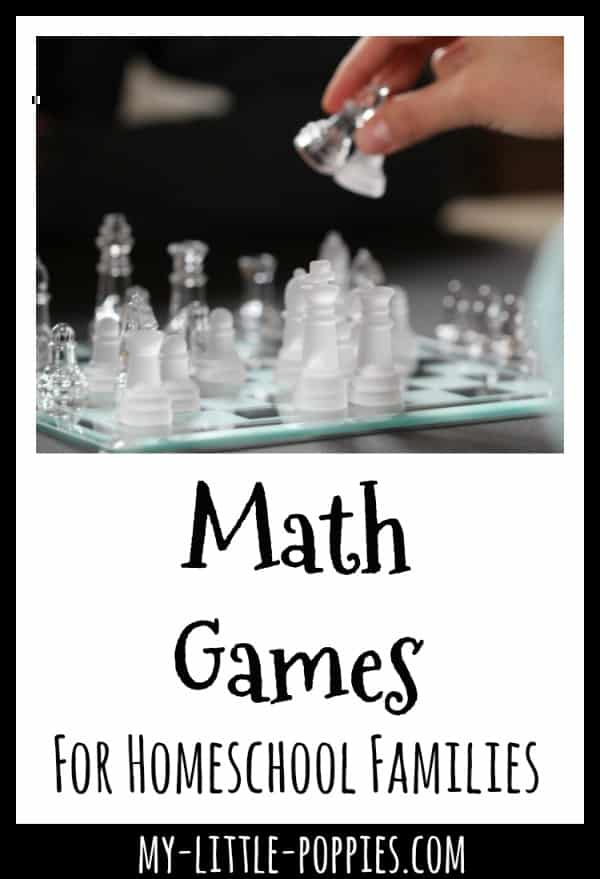 Math Games For Homeschool Families {A Gameschooling Series} My Little Poppies