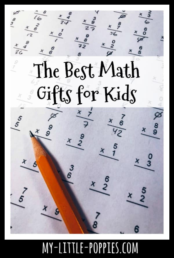 The Best Math Gifts for Kids | My Little Poppies