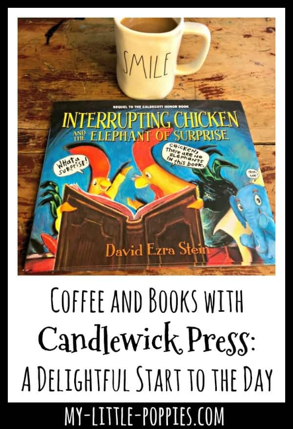Coffee and Books with Candlewick Press: A Delightful Start to the Day | My Little Poppies