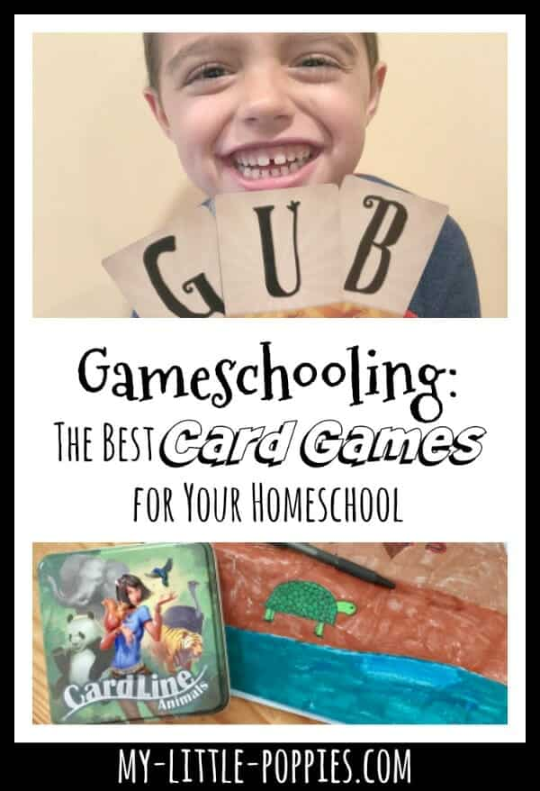 Gameschooling: The Best Card Games for Your Homeschool  | My Little Poppies