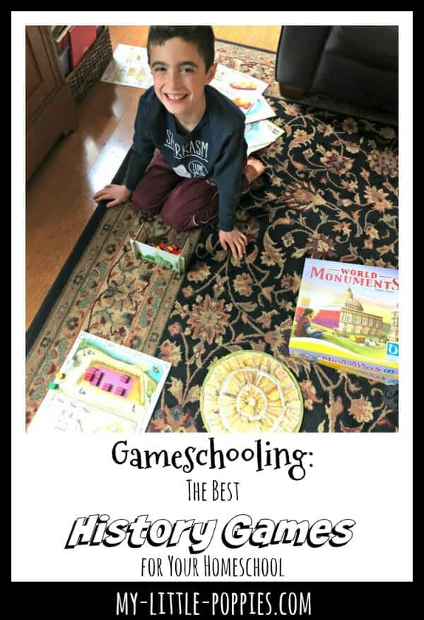 Gameschooling: The Best History Games for Your Homeschool | My Little Poppies