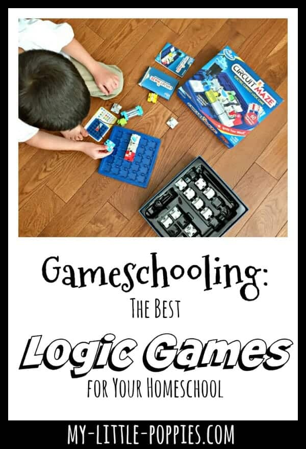 Gameschooling: The Best Logic Games for Your Homeschool | My Little Poppies