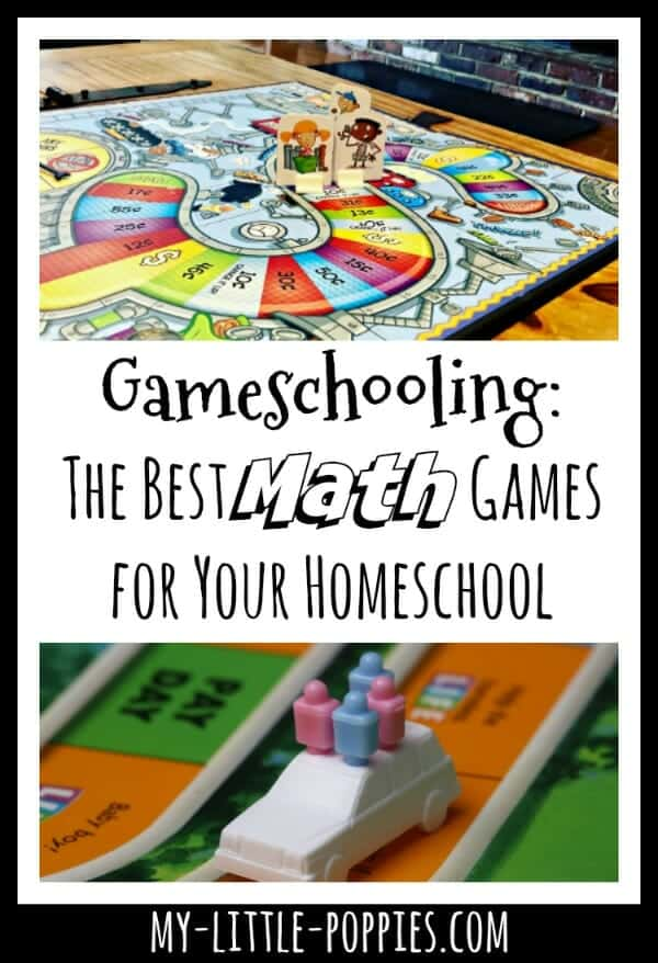 Gameschooling: The Best Math Games for Your Homeschool | My Little Poppies