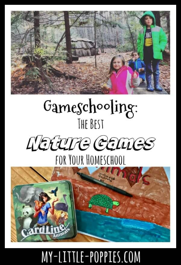 Gameschooling: The Best Nature Games for Your Homeschool | My Little Poppies