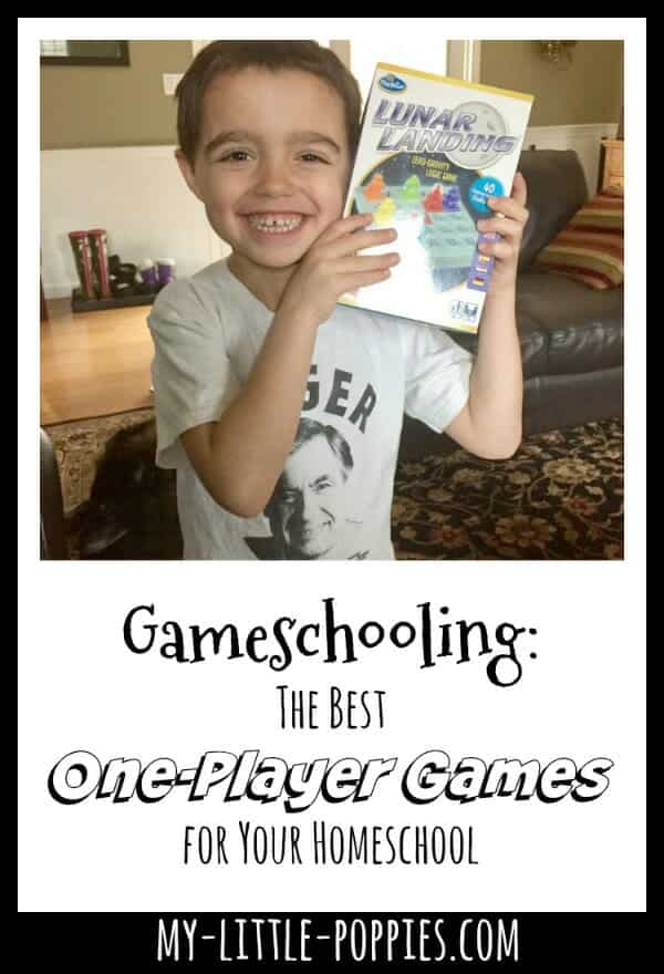 Gameschooling: The Best One-Player Games for Your Homeschool | My Little Poppies