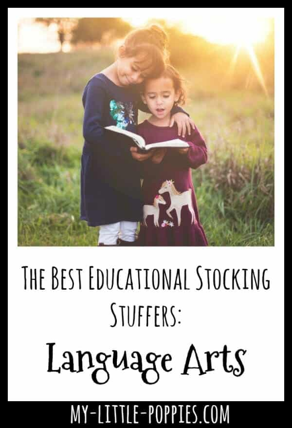 The Best Educational Stocking Stuffers: Language Arts | My Little Poppies