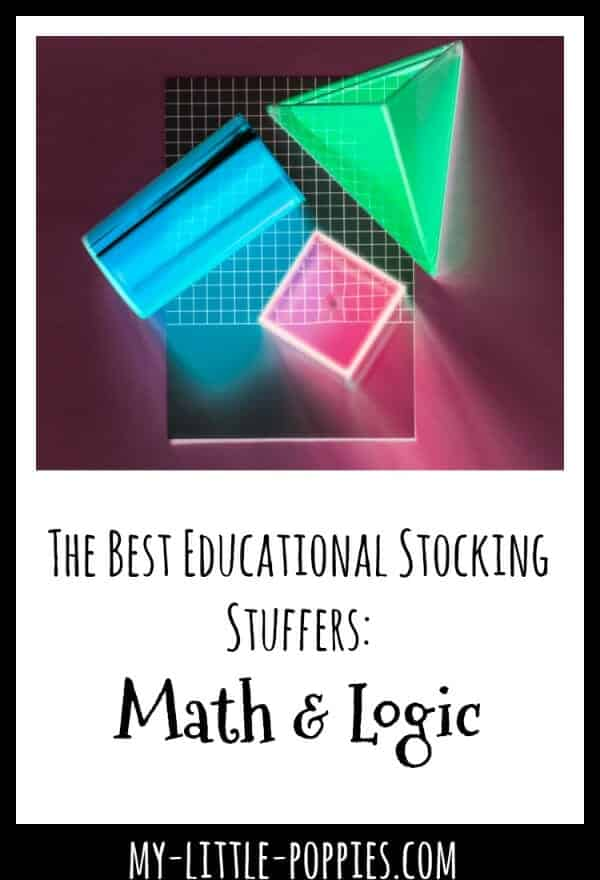 The Best Educational Stocking Stuffers: Math & Logic | My Little Poppies