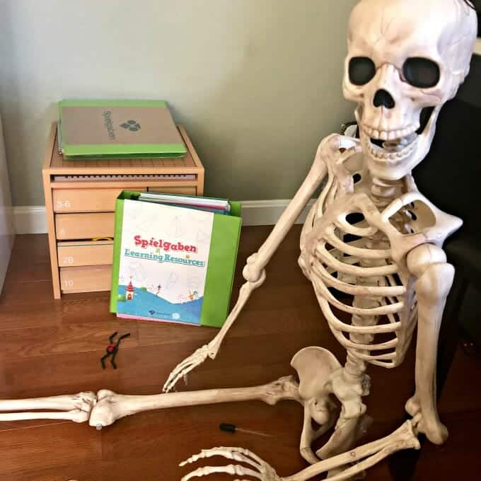 The Best Halloween Books for Your Homeschool... Plus Spooky Spielgaben Play! | My Little Poppies