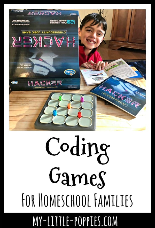 Coding Games For Homeschool Families {A Gameschooling Series} | My Little Poppies