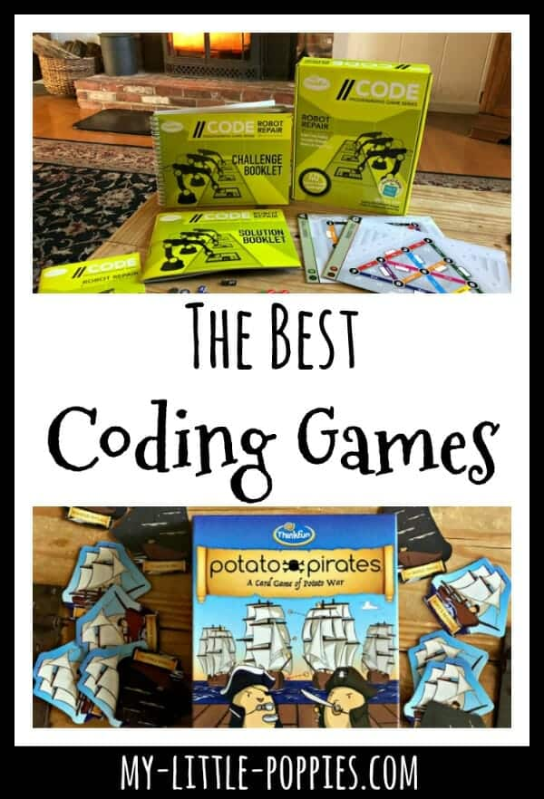 Gameschooling: The Best Coding Games for Your Homeschool | My Little Poppies
