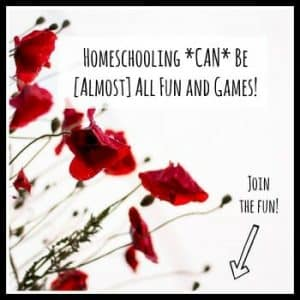 Homeschooling *can* be [almost] all fun and games!