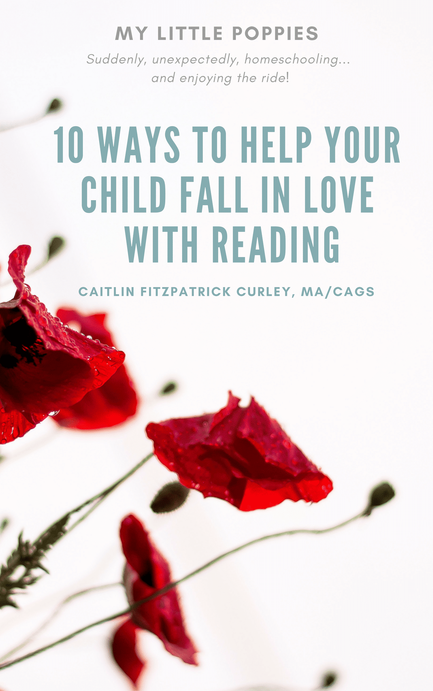 10 Ways to Help Your Child Fall in Love with Reading | Caitlin Fitzpatrick Curley, MA/CAGS, school psychologist and creator of My Little Poppies