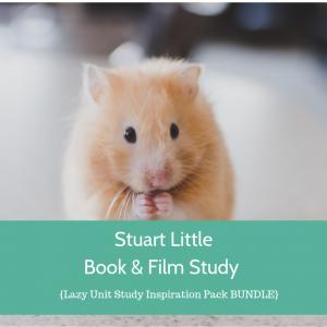 Stuart Little by E.B. White Study {Lazy Unit Study Inspiration Pack} | My Little Poppies