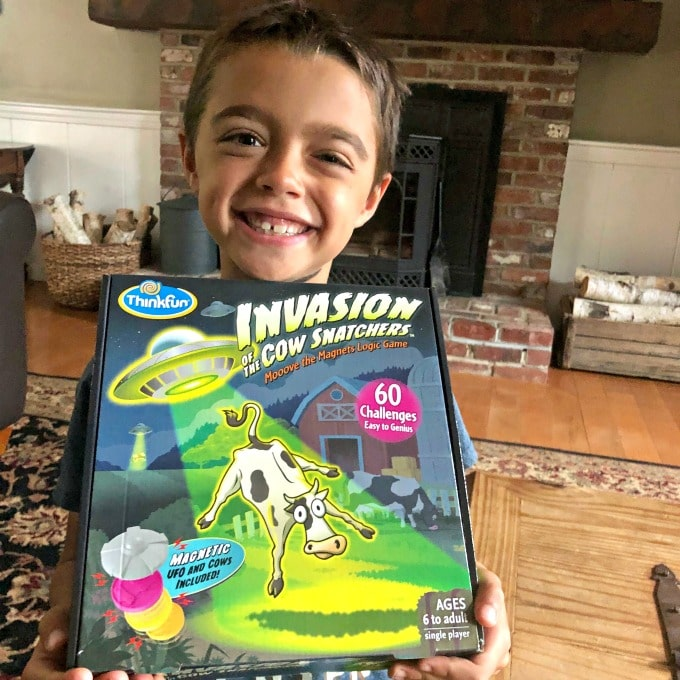 Invasion of the Cow Snatchers: A Magnetic One-Player Logic Game | My Little Poppies