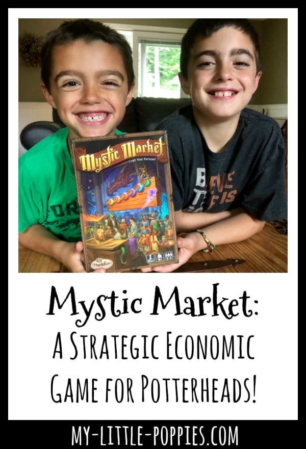 Mystic Market: A Strategic Economic Game for Potterheads! | My Little Poppies