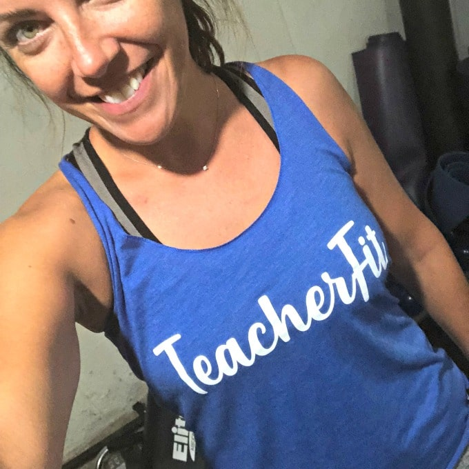 How to Be A Happier Homeschool Mom with TeacherFit | My Little Poppies