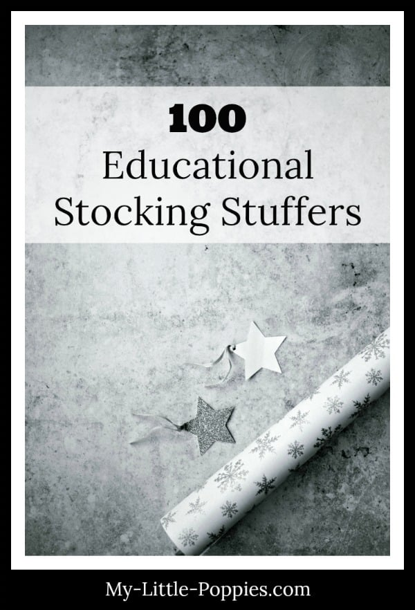 100 Educational Stocking Stuffers for Families | My Little Poppies