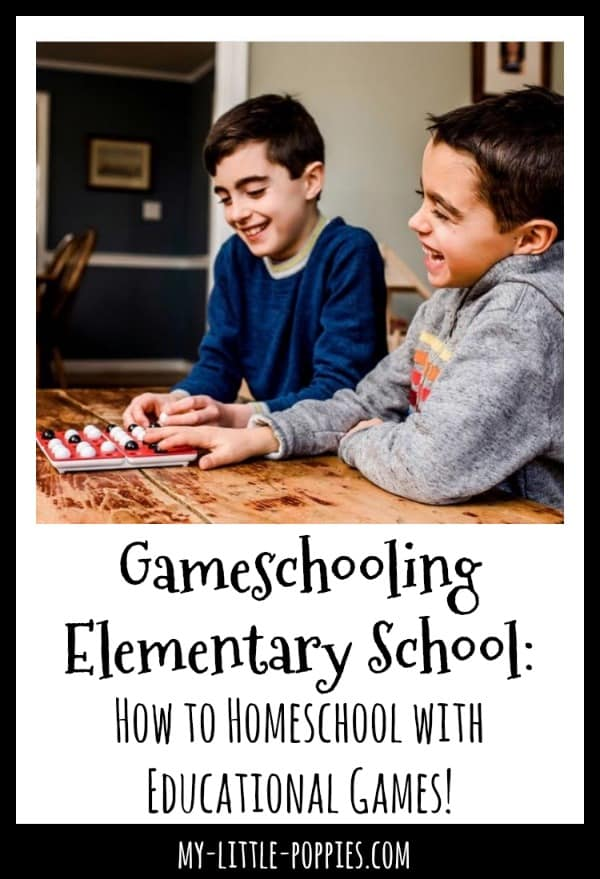 Gameschooling Elementary: How to Homeschool with Awesome Educational Games! | My Little Poppies
