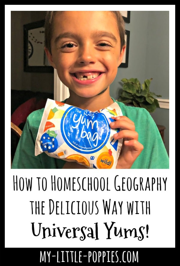 How to Homeschool Geography the Delicious Way with Universal Yums! | My Little Poppies