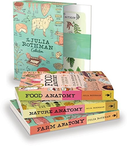 The Julia Rothman Collection: Farm Anatomy, Nature Anatomy, and Food Anatomy
