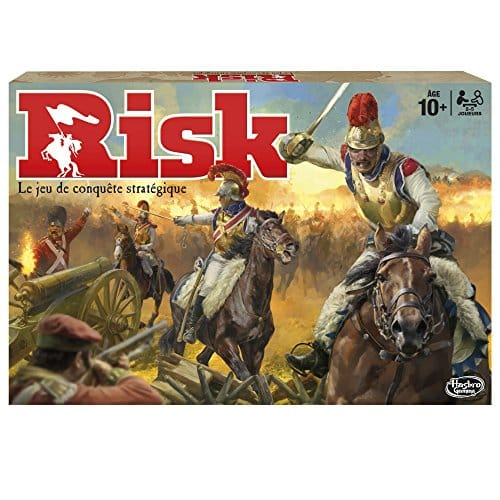 My 11-year-old is currently obsessed with Risk!