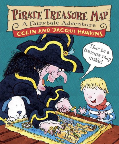 Pirate Treasure Map: A Fairytale Adventure