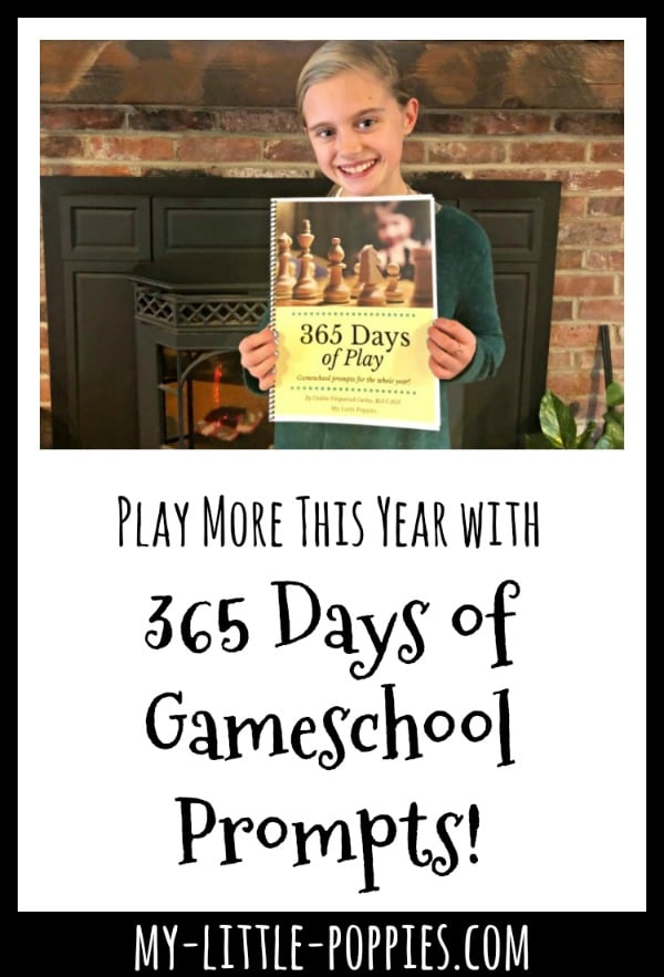 How to Use Gameschool 365 Challenge to Play More this Year! | My Little Poppies