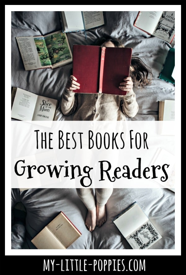 The Best Books for Growing Readers in Your Homeschool | My Little Poppies